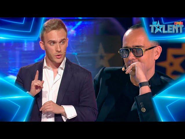 Este TRUCO CON CARTAS deja al jurado SIN PALABRAS | Audiciones 7 | Got Talent España 7 (2021)
