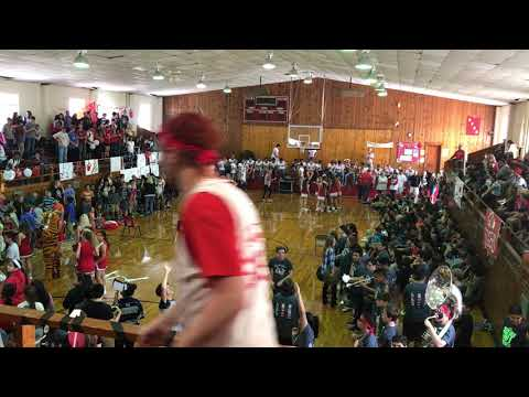 Green Forest Pep Rally  - Carroll County Superbowl 2017
