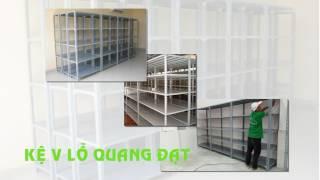 Kệ sắt Quang Đạt - Giá Rẻ tại xưởng - Chất lượng vượt trội