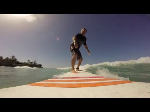 Barbados Surfing, some more form the BIG kids