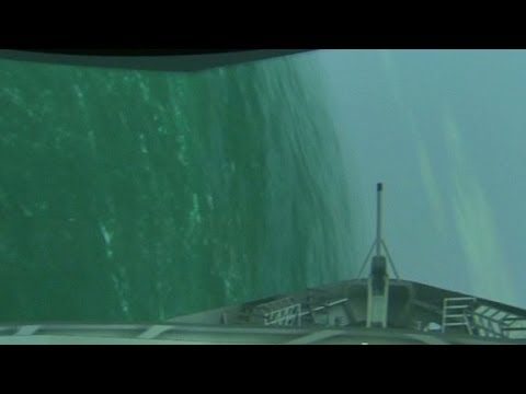 Simulator helps show final moments before ferry sank