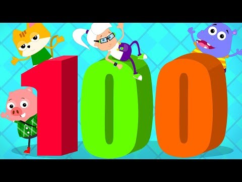 Number Song 1 to 100 | Learn To Count | Big Number Song | Baby Song