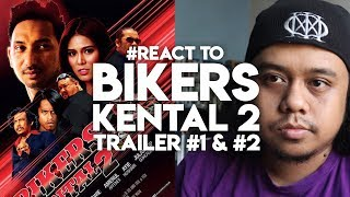 #React to BIKERS KENTAL 2 Trailer #1 & #2