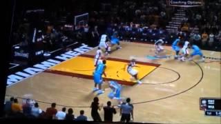 NBA 2K13 On The Wii U Gamepad