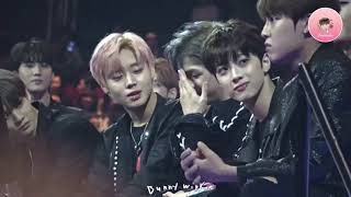 Wannaone's Reaction When Winning Best Male Group Award At Mama 2017 In Hk