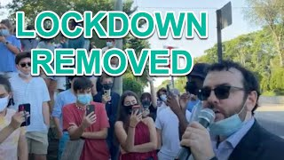 How To Remove A Lockdown