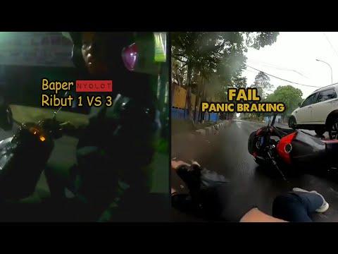 Road Rage Indonesia - N250 Test Benturan || Ride History #15