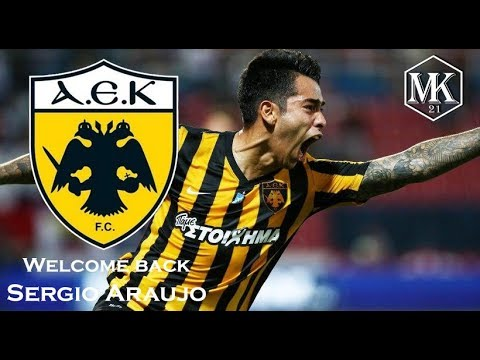 "Sergio Araujo ● Welcome Back To AEK Athens ● ""I'm Coming Home"" ● 4K HD"