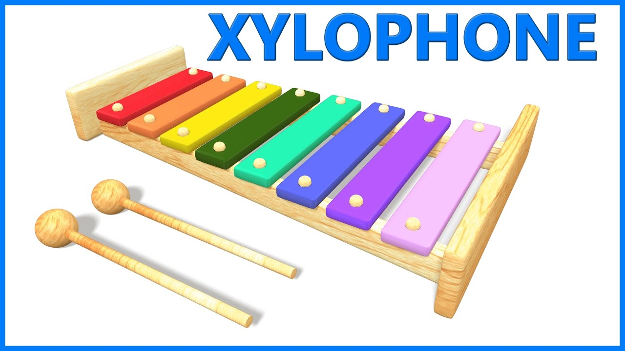 Xylophone For Kids | Letters For Toddlers | ABCD Poems For Kids - YouTube