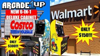 NEW Arcade1Up Asteroids 6-In-1 Deluxe Cabinet & Walmart Has Huge Price Drops!