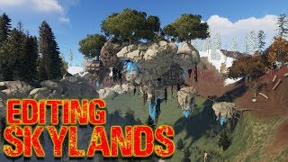 Rust Custom Map's   Editing Skyland's