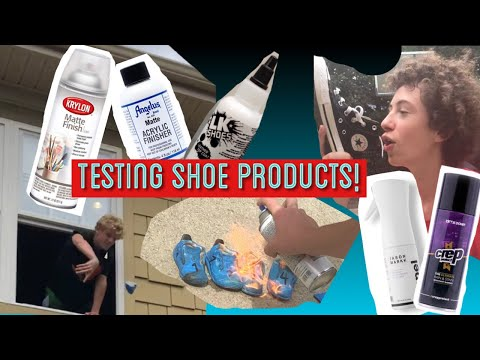 TESTING PAINT SEALERS FOR CUSTOMIZED SHOES!