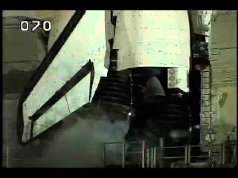 Space Shuttle Engine Gimbal Check - YouTube
