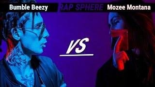 Флоу-Баттл. Bumble Beezy VS Mozee Montana.