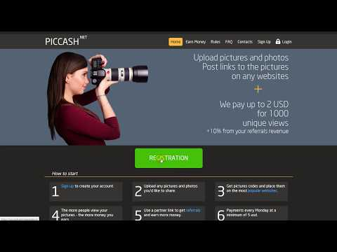 Piccash - Upload Pictures And Photos And Earn Money. Piccash.net - Sharing Images