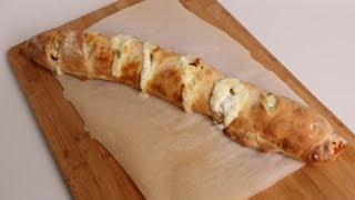 Veggie Stromboli Recipe - Laura Vitale - Laura in the Kitchen Episode 356
