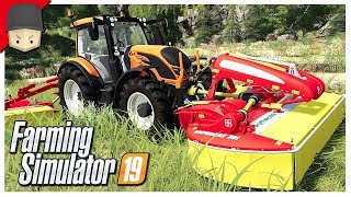 LIME, MOWING, BASKETBALL & THE BEACH! : Ep.07 (Let's Play Farming Simulator 19)