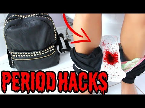 Thumbnail: 13 BACK TO SCHOOL PERIOD HACKS EVERY Girl SHOULD KNOW !!