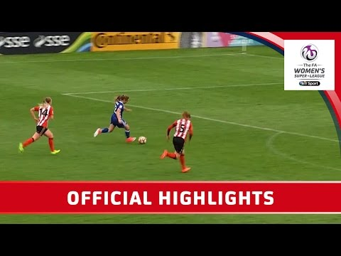 Sunderland Ladies 0-7 Chelsea Ladies – WSL Spring Series | Official Highlights