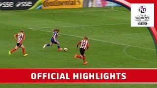 Sunderland Ladies 0-7 Chelsea Ladies - WSL Spring Series | Official Highlights