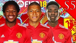 AMAZING CHAMPIONS LEAGUE FINAL!!! FIFA 18: MANCHESTER UNITED CAREER MODE S5 #3
