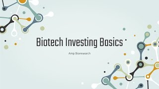 Biotech Investing Basics | Pharma Stock Education
