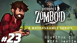 Project Zomboid | Walls & Water | Let's Play Project Zomboid Gameplay Survivor 2 Part 23