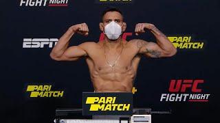 UFC Вегас 14: Церемония взвешивания смотреть онлайн в хорошем качестве - VIDEOOO