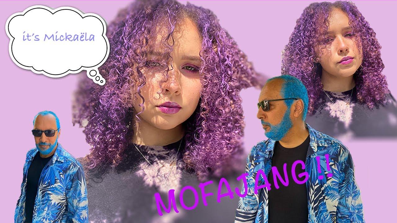 @Camille Ricordel: I dyed my hair purple 💜/ NO DAMAGE Cire Mofajang !!