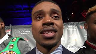 Errol Spence Hopes Keith Thurman Wil Be Next Opponent EsNews Boxing