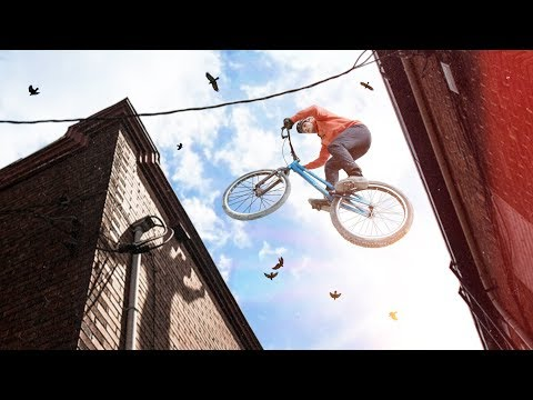 Опасный велосипед. Навыки циркачей! Велотриал