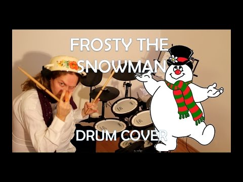 FROSTY the SNOWMAN - August Burns Red drum cover...