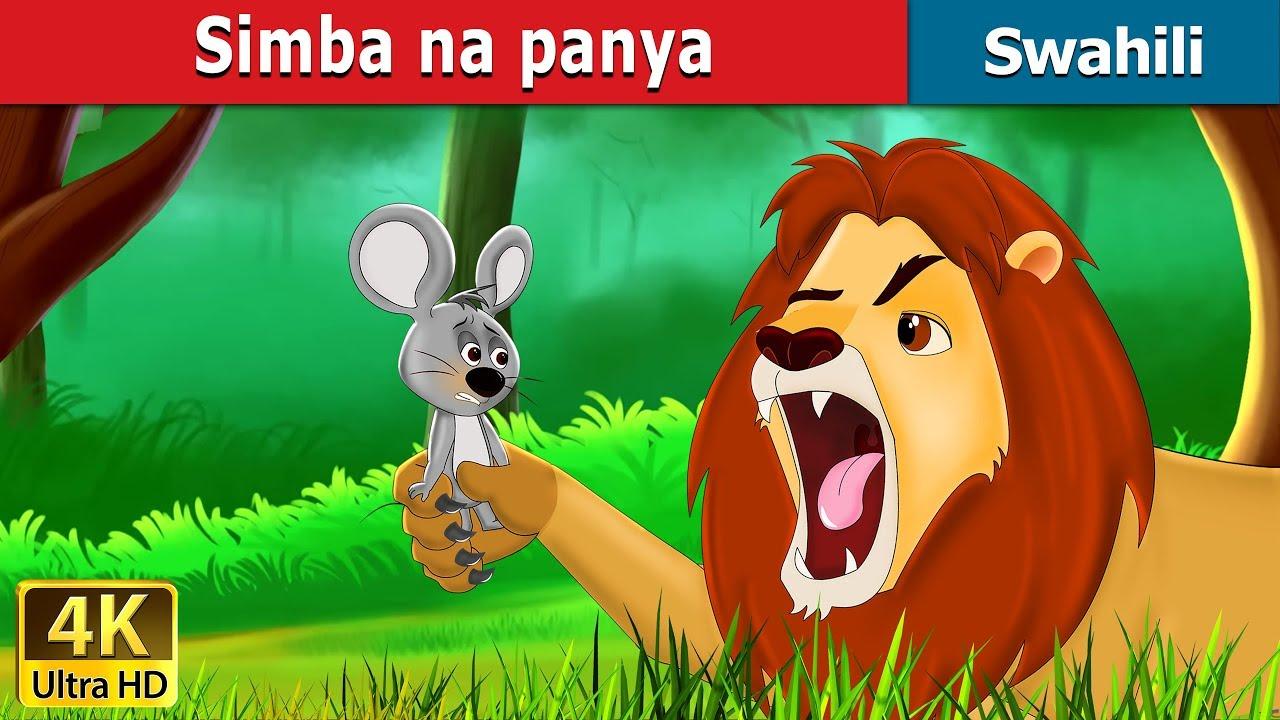 Download Simba na Panya   Hadithi za Kiswahili   Swahili Fairy Tales