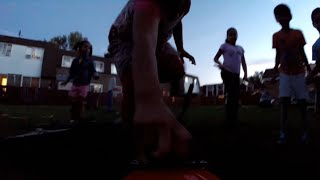 henry the fpv rc car gets attacked by zombies at night filmed with gopro