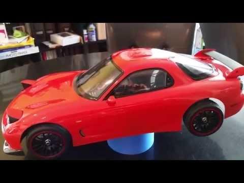 Tamiya 1/10 Scale Mazda RX-7 RC Body Kit Review