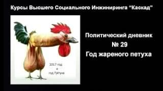 ГОД ПЕТУХА ... Политический Дневник № 29