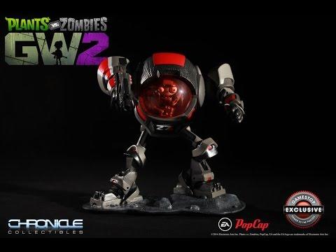 Gamestop exlusive z7 imp statue plants vs zombies Plants vs zombies garden warfare gamestop