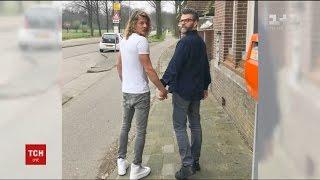 У Голландії влаштували флешмоб на підтримку гей пари, яку жорстоко побили