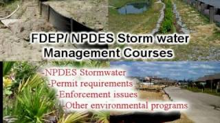 FDEP/ NPDES Storm water Management Course