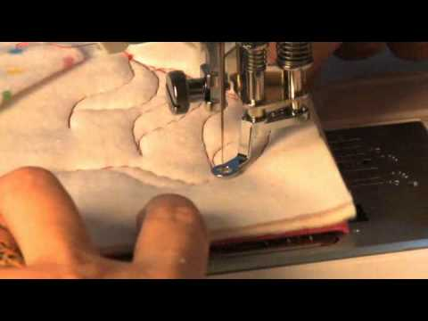 Janome Free Motion Quilt Foot Set Video Using The Closed Toe ... : janome free motion quilting - Adamdwight.com