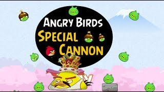 Angry Birds Special Cannon - Angry Bird Game