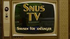 Snus TV : Snusen für Anfänger I Snusfreak.com