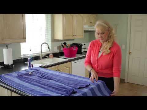 Как растянуть платье в длину из вискозы