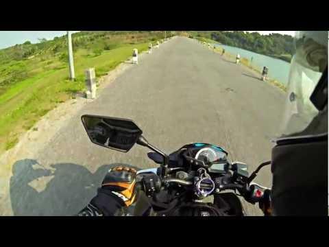 Test Ride Kawasaki Z250