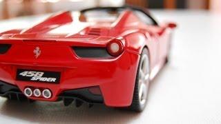 Ferrari 458 Spider 1:18 (Hot Wheels)