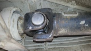 Ремонт кардана, устранение вибрации на отечественном авто.