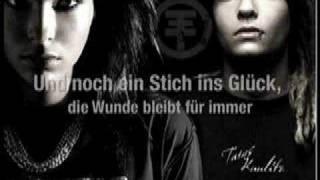 Tokio Hotel - Stich Ins Glück Lyrics