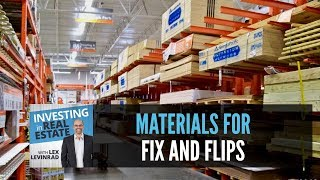 Fix and Flip Houses   Materials That We Use on Fix and Flips