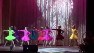 Самба (дети 6-8 лет). Танц. студия «Акварель», Мытищи
