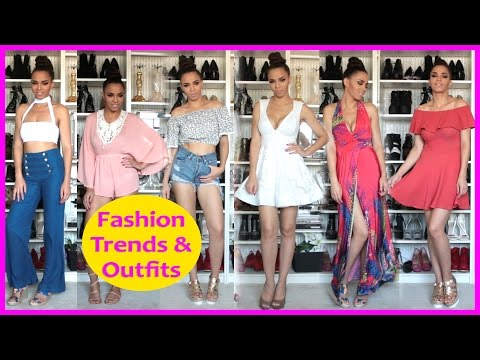 Summer Fashion Trends 2016 – Summer Fashion Style Tips, Haul, Outfits, Shoes